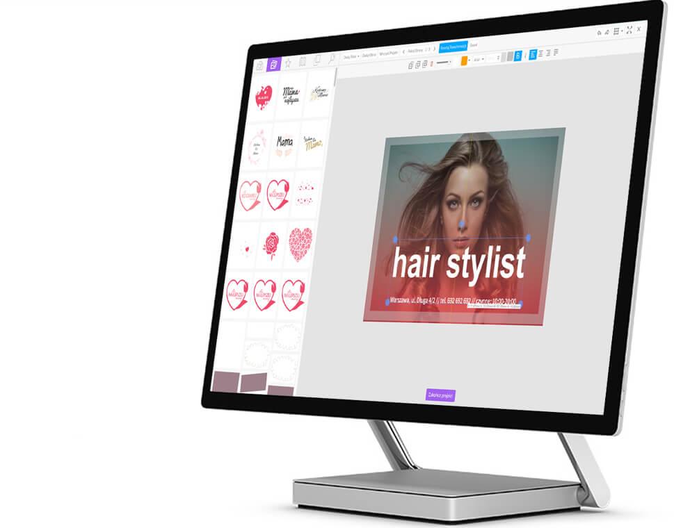 Online designer project